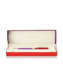 Red and Purple Boxed Ballpoint Pen