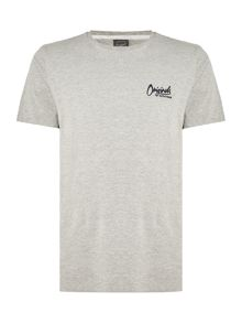 Jack & Jones Small-Logo Crew-Neck Short-Sleeve T-shirt