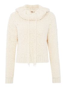 Free People Anemone knitted beach pullover