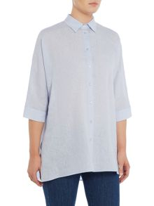 Max Mara FIERO oversized linen button up shirt