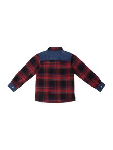name it Boys Checked Shirt