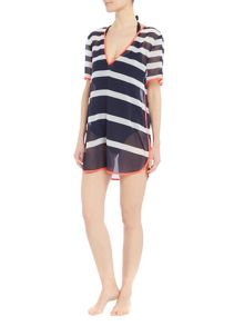 Ted Baker Parasol stripe cover up