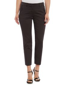 Max Mara BISOUS slim fit cotton trouser