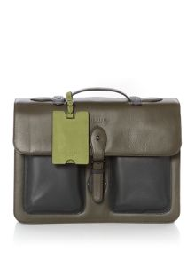 Ted Baker Quint Leather satchel