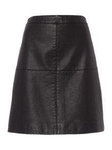 Therapy Serenity PU Mini Skirt