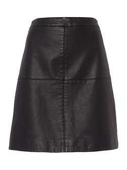 Serenity PU Mini Skirt