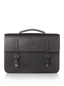 Ted Baker Lansky cross grain satchel