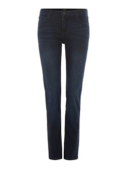 Elly slim straight jean in super dark
