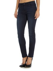 Lee Elly slim straight jean in super dark