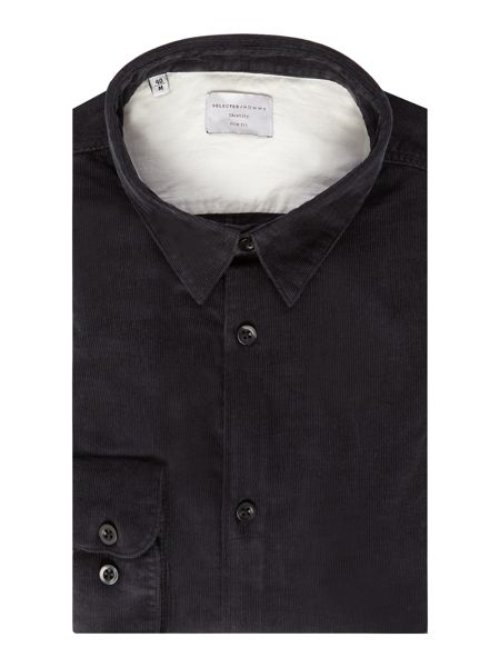 Selected Homme Cord Long-Sleeve Shirt