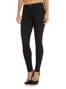 Lee Jodee super skinny jean in black