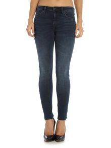Lee Jodee super skinny jean in raven