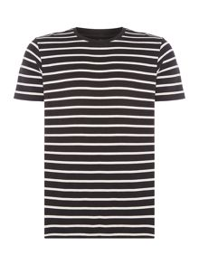 Jack & Jones Stripe Crew-Neck Short-Sleeve T-shirt