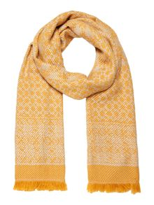 Dickins & Jones Donna mixed weave blanket scarf