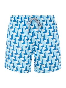 Ted Baker Wave Print Swim Short