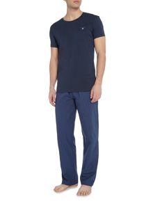 Gant Pant and Logo Crew Tee Gift Set