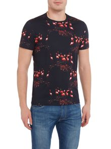 Ted Baker Flamingo Print T Shirt