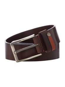 Ted Baker Highlight Keeper Leather Belt