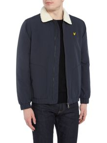 Lyle and Scott Sherling lined bomber jacket