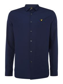Lyle and Scott Long sleeve slim fit poplin shirt