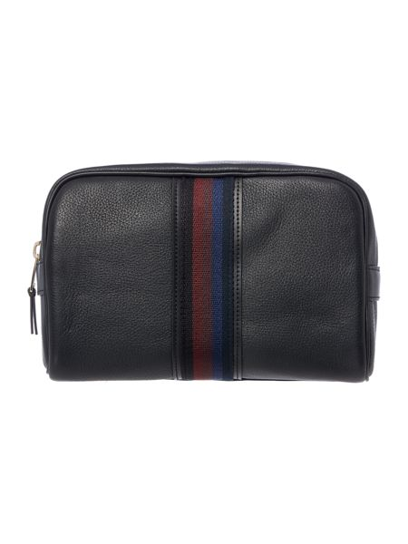 Paul Smith London City Webbing Leather Washbag