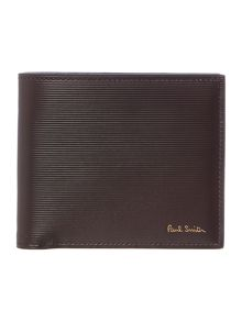 Paul Smith London Saffiano Stripe Embossed Bilford Washbag