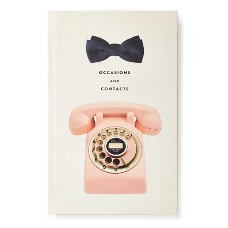 Kate Spade New York Occasions and addresses journal, rotary phone case