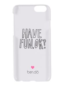 Ban.do I am very busy iphone 6 case