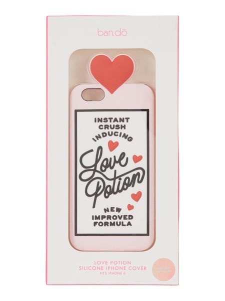 Ban.do Love potion, silicone iphone 6 case