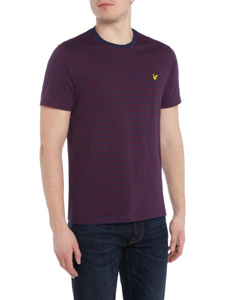 Lyle and Scott Striped short sleeve t-shirt