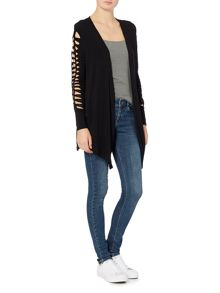 Label Lab Halstead ladder sleeve cardigan