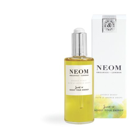 Neom Energy Burst Bath & Shower Drops 10ml