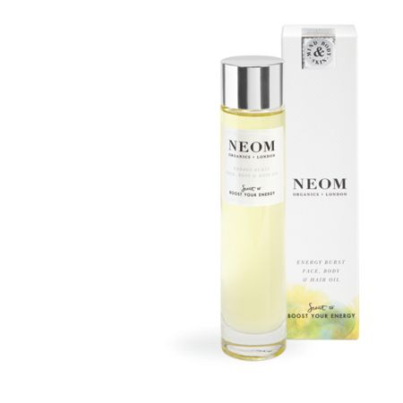 Neom Energy Burst Face, Body & Hair Oil 100ml