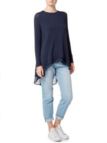 Label Lab Lorne dip back top