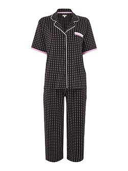 SS top and capri exclusive pyjama set