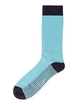 Organic Semi Plain Socks