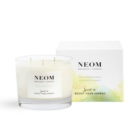 Neom Feel Refreshed Scented Candle 3 Wick 420g