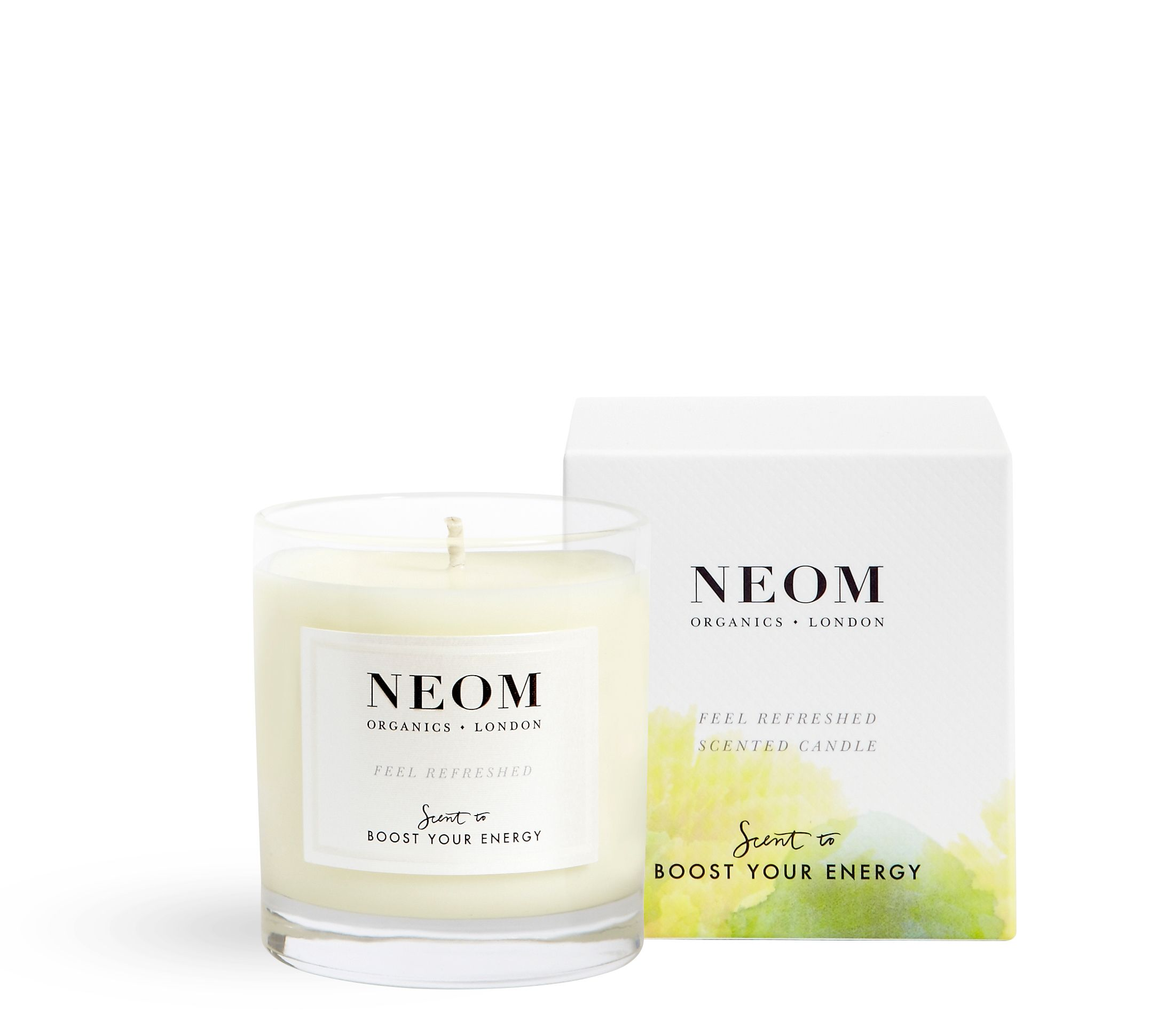 Image of Neom Feel Refreshed Scented Candle 1 Wick 185g