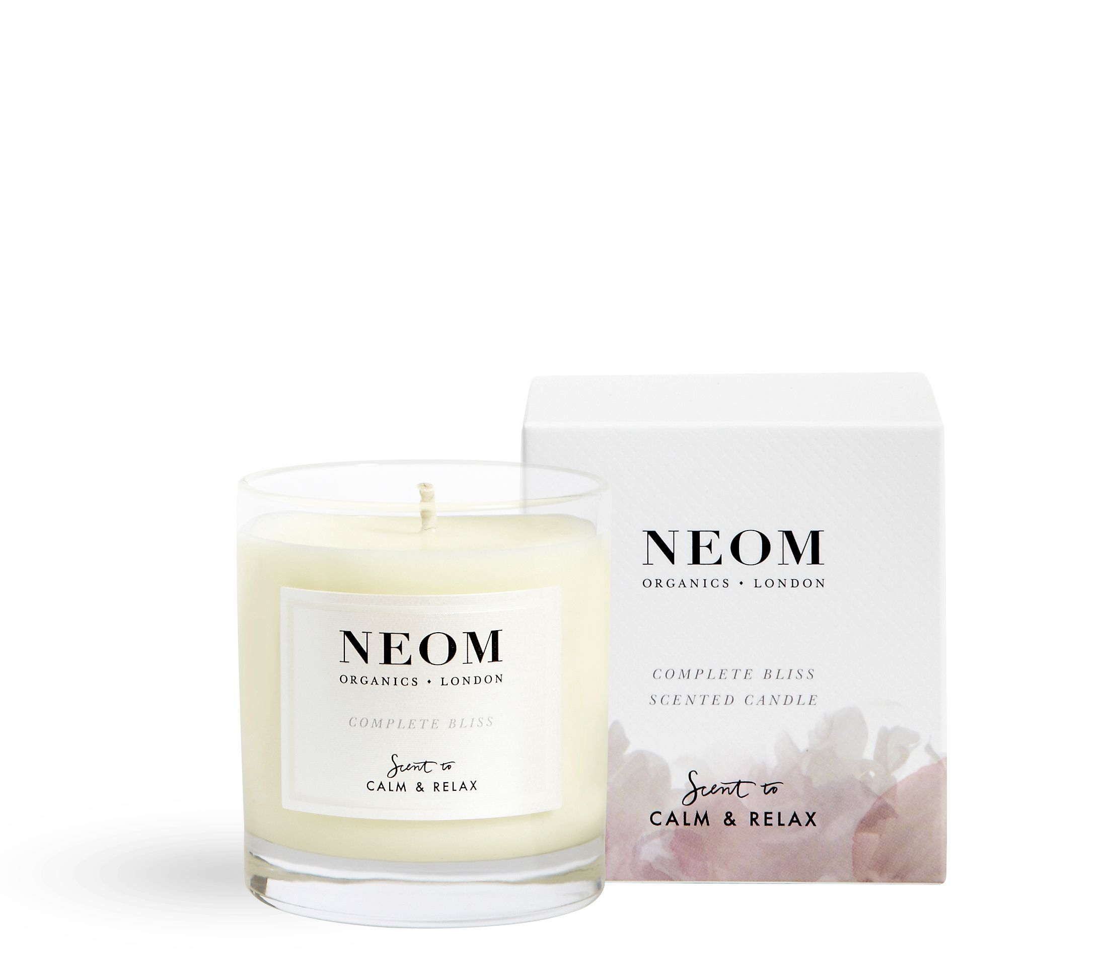 Image of Neom Complete Bliss Scented Candle 1 Wick 185g