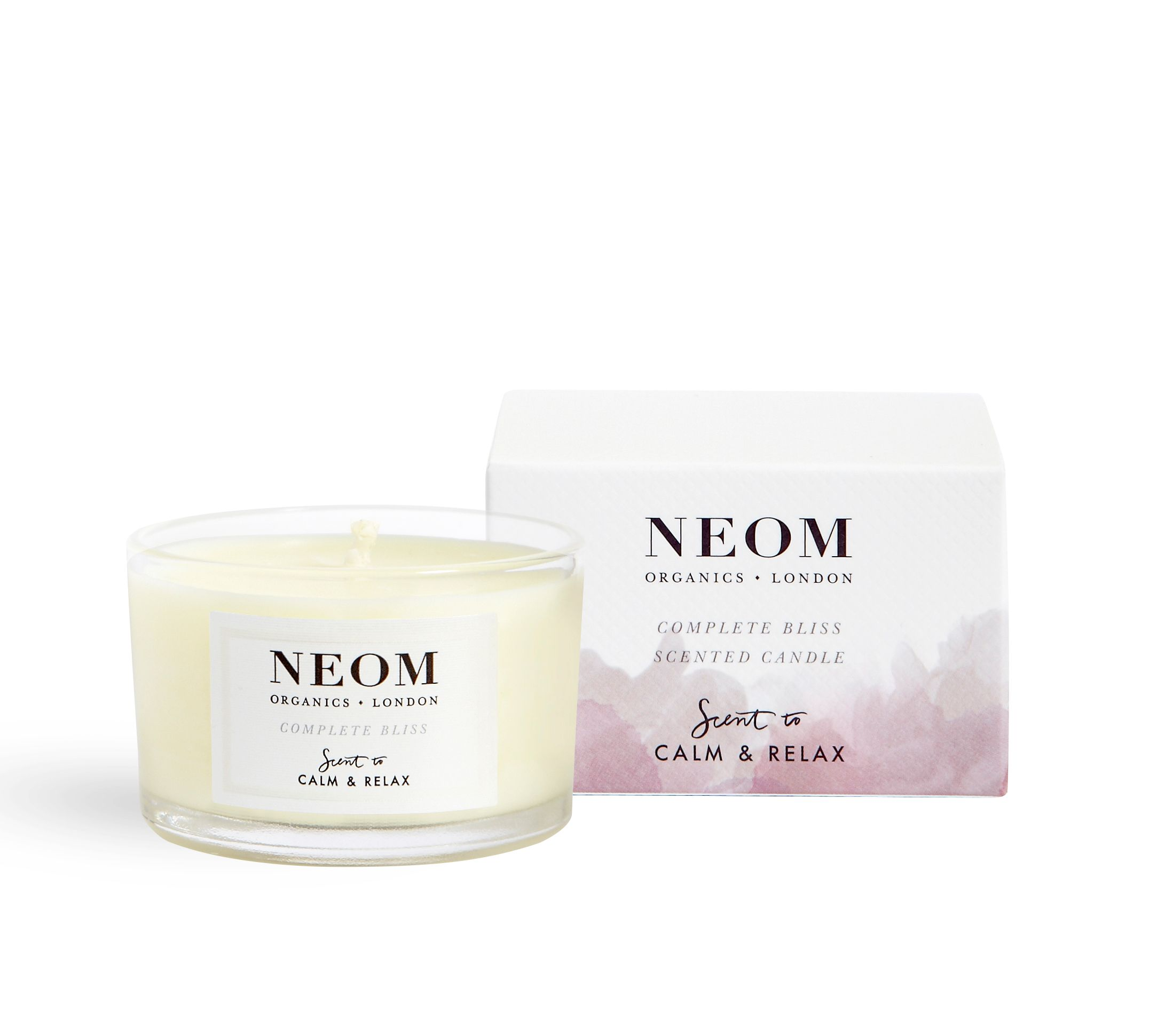 Image of Neom Complete Bliss Scented Travel Candle 75g