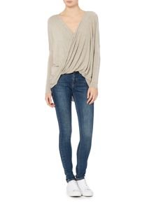 Label Lab Torren twist knit top