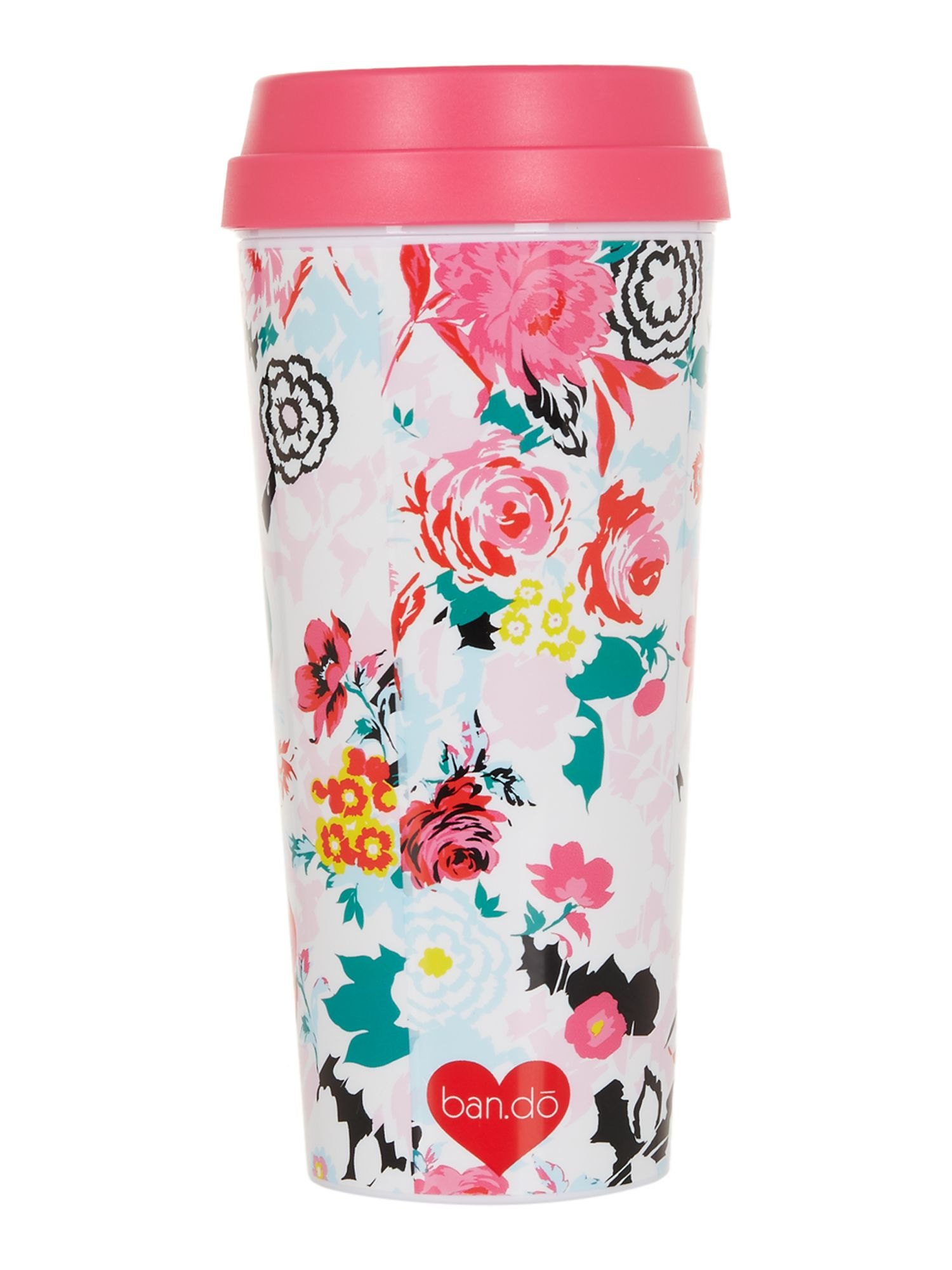 Image of Ban.do Mega blooms, hot stuff thermal mug