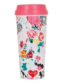 Ban.do Mega blooms, hot stuff thermal mug