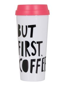 Ban.do But first, coffee, hot stuff thermal mug