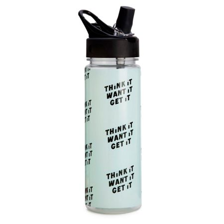 Ban.do Think it want it get it, work it out water bottle