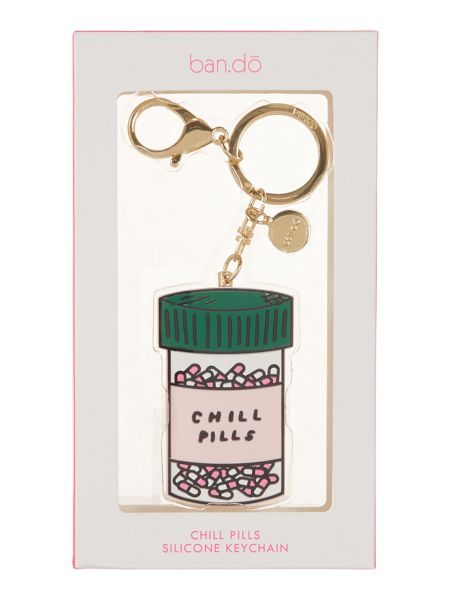 Ban.do Chill pills / Love potion keyring