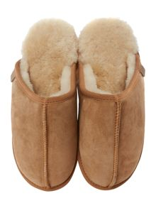 Just Sheepskin Donmar Seam Front Sheepskin Mule Slipper