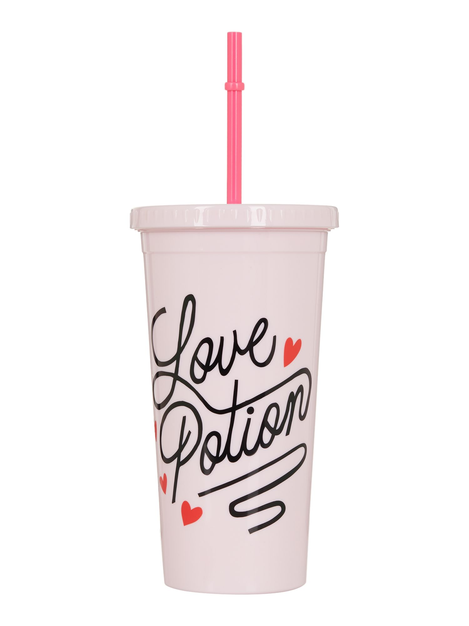 Image of Ban.do Love potion, sip sip tumbler with straw