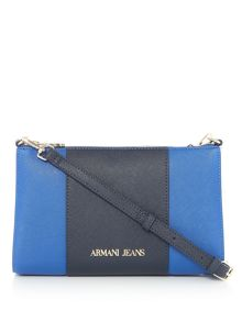 Armani Jeans Eco-saff crossbody bag