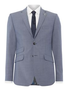 Ted Baker Kahn Slim Fit Two Tone Sharkskin Suit Jacket